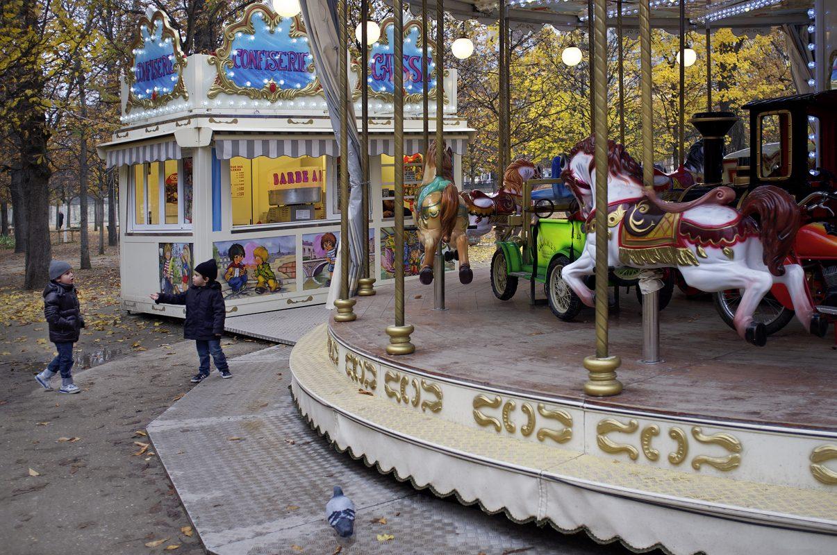 Jardin des Tuileries, Carrousel