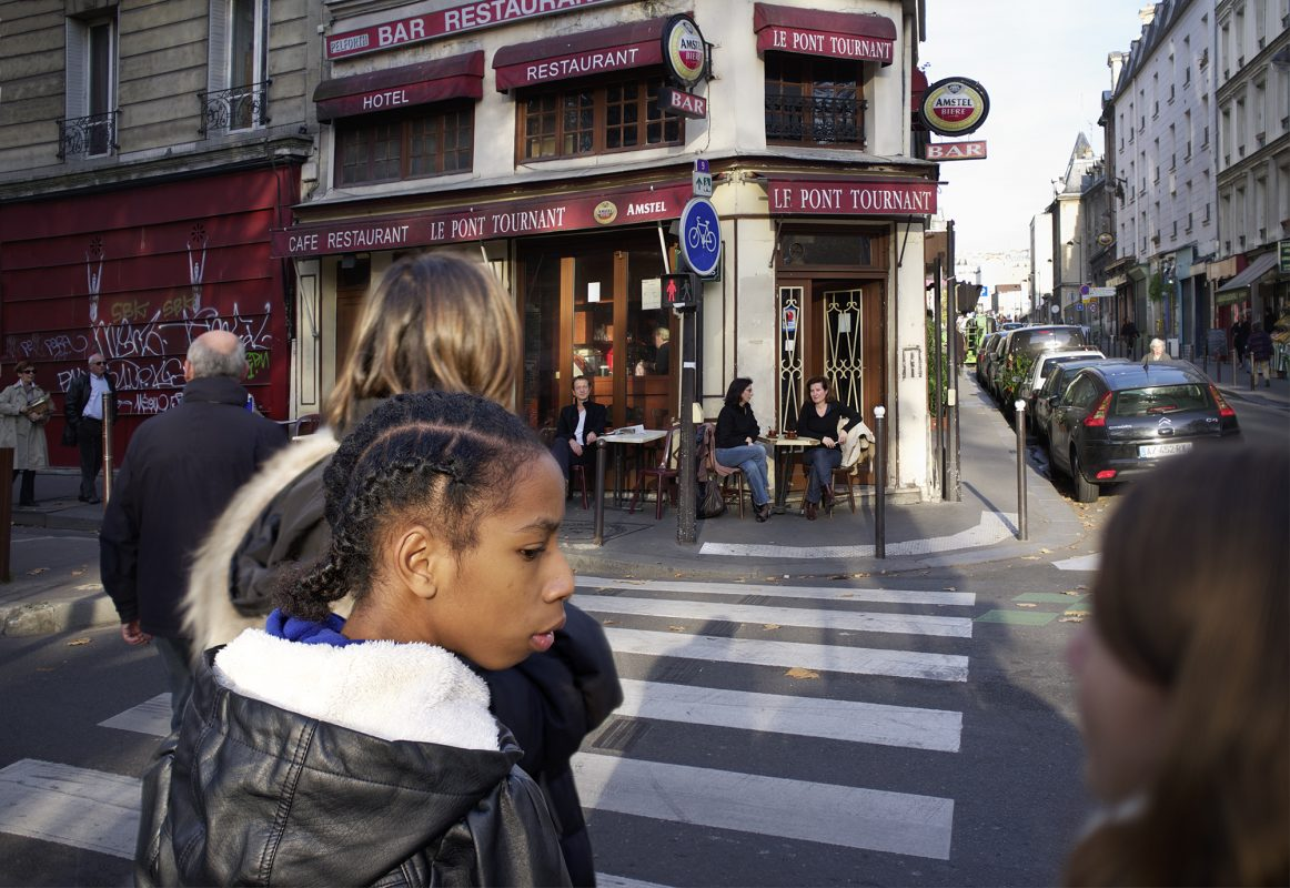 Paris Straßenszene