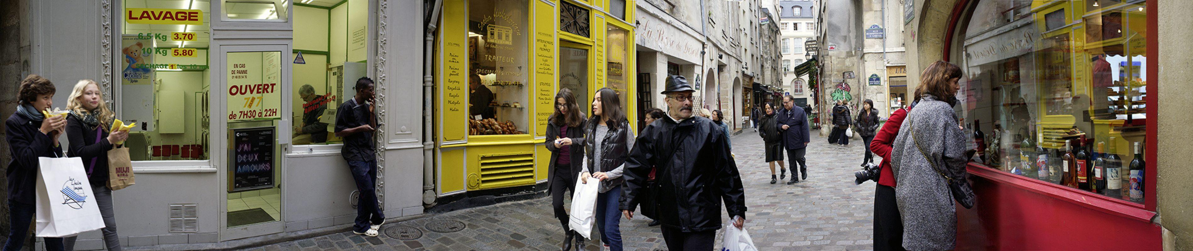 Rue de Rosiers, Marais