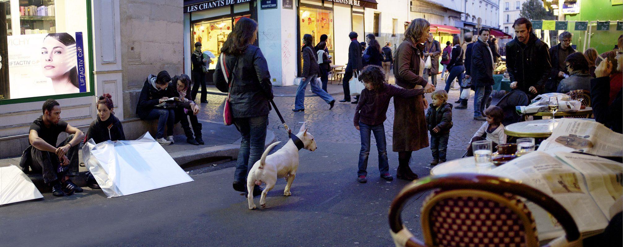 Rue Mouffetard Hund