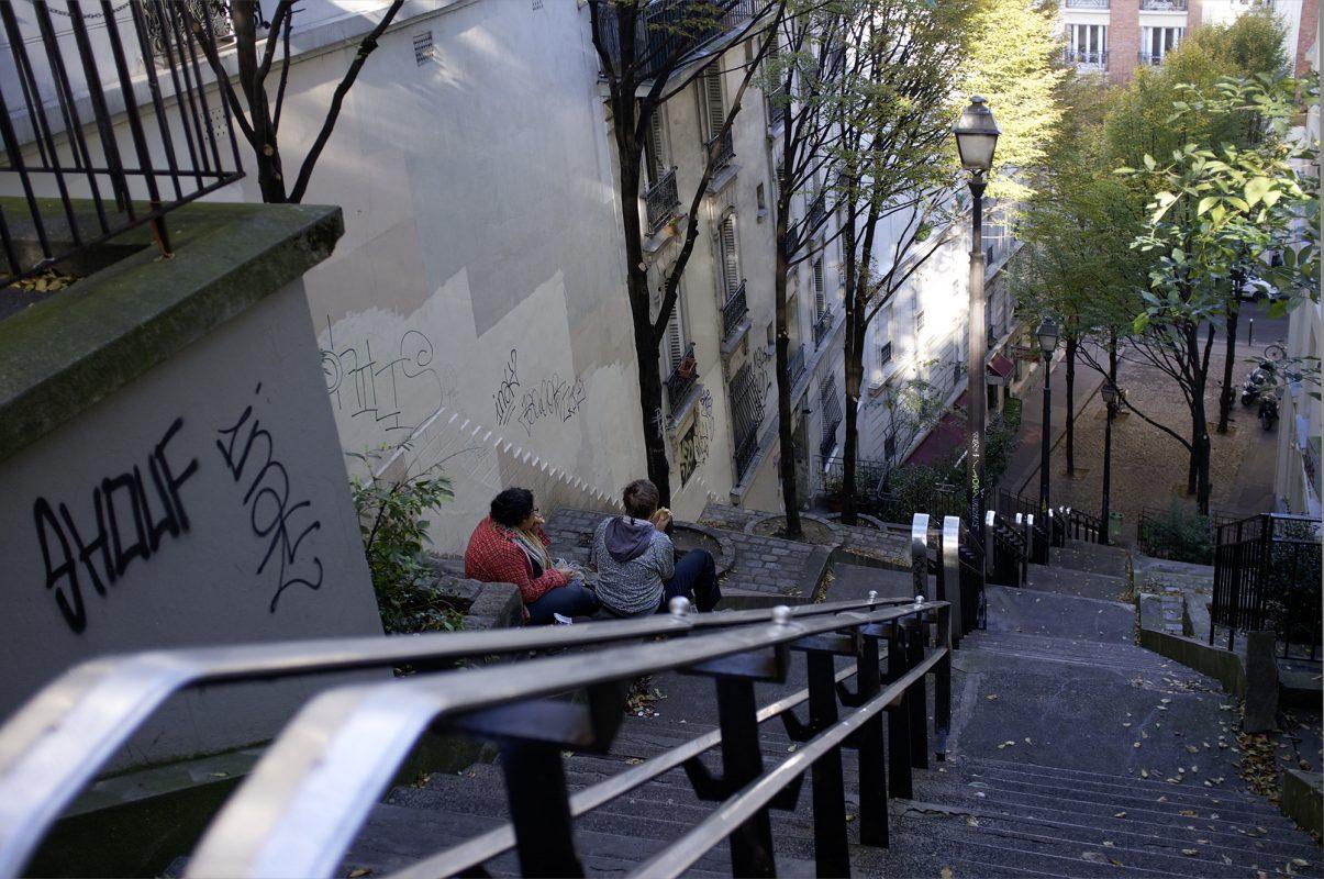 Piknik Treppe zum Montmartre