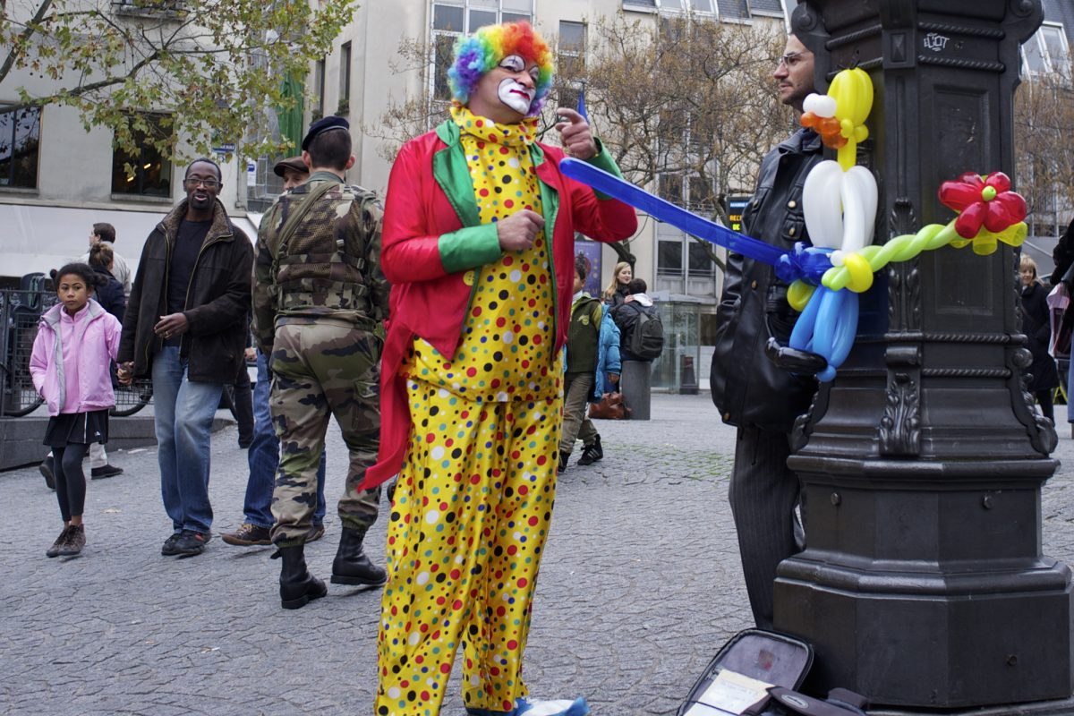 Centre George Pompidou, Clown