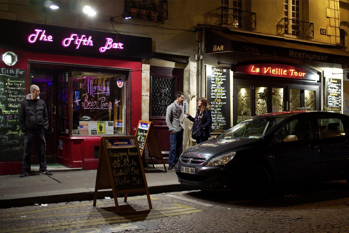 Paris, Fifth bar