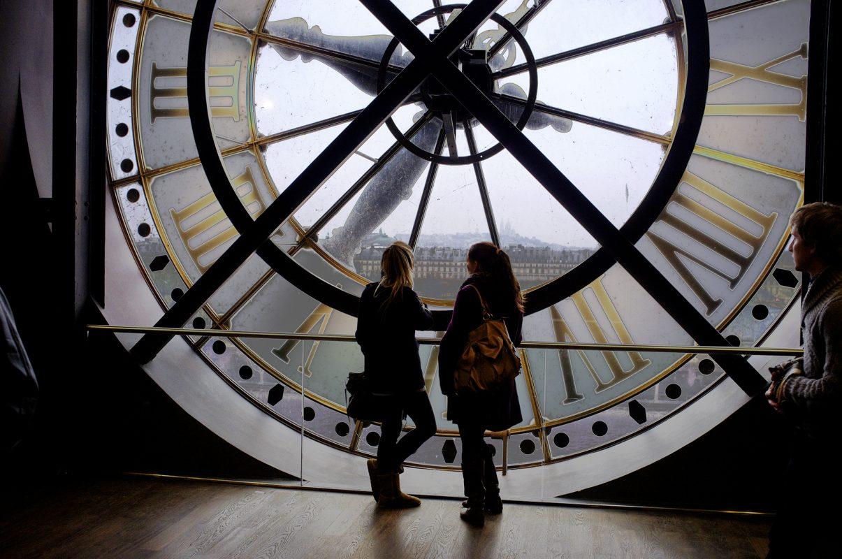 Große Uhr Musée d'Orsay