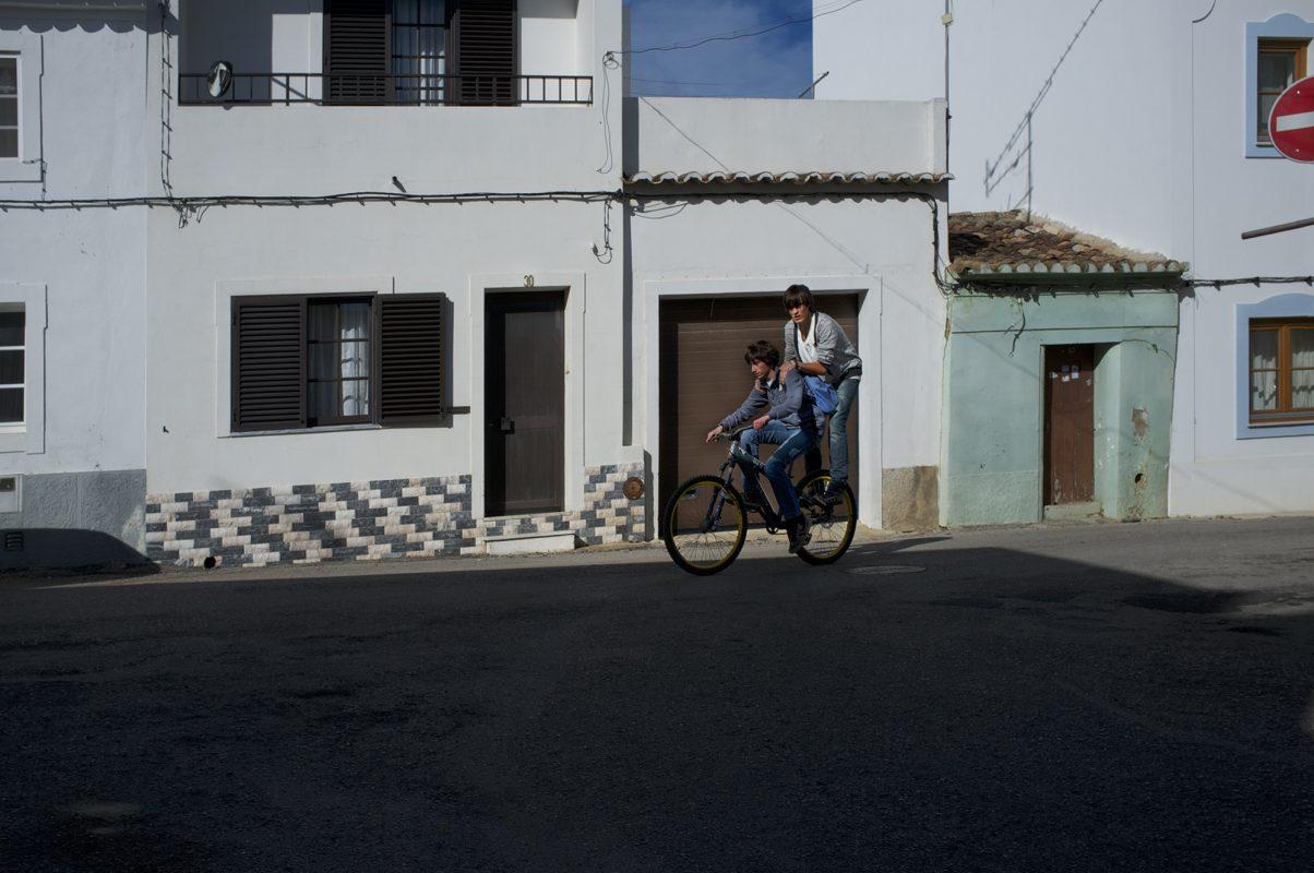 2auf Fahrrad