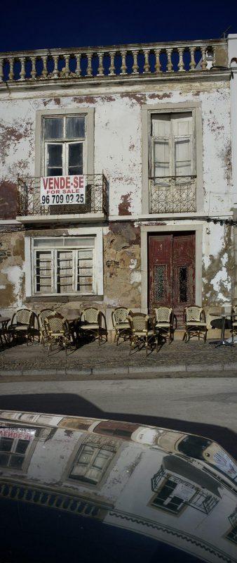 Portugal, Tavira, Auto, Spieglung, zu verkaufen