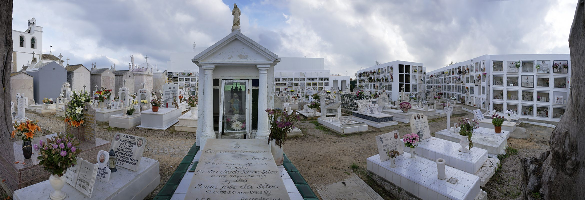 Portugal, Fuseta, Friedhof