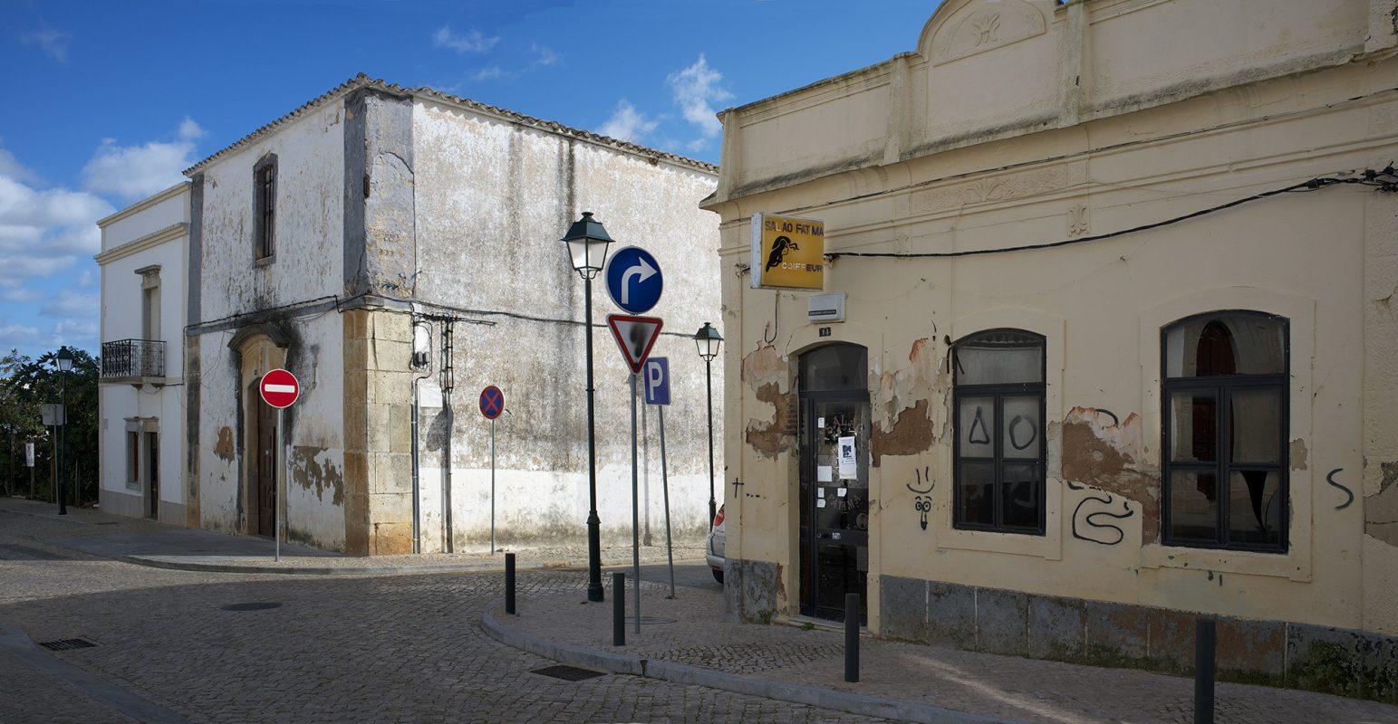 Straßenecke Schilder