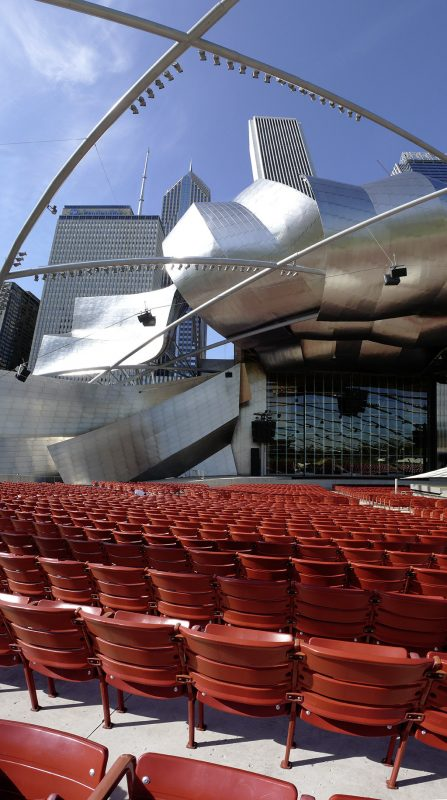 Chicago, Jay Pritzker Pavilion, Architekt Frank Gehry