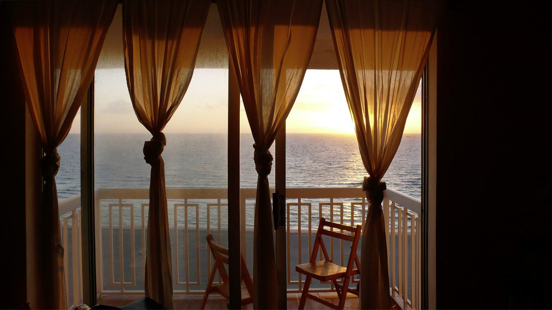 Fenstervorhang