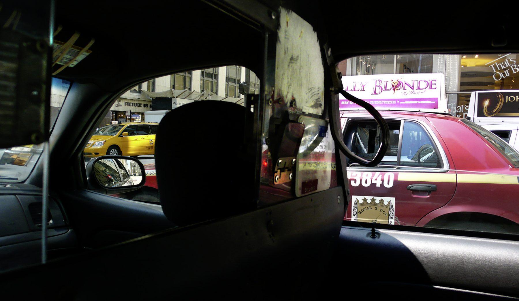 Ausdemautofenstertaxi