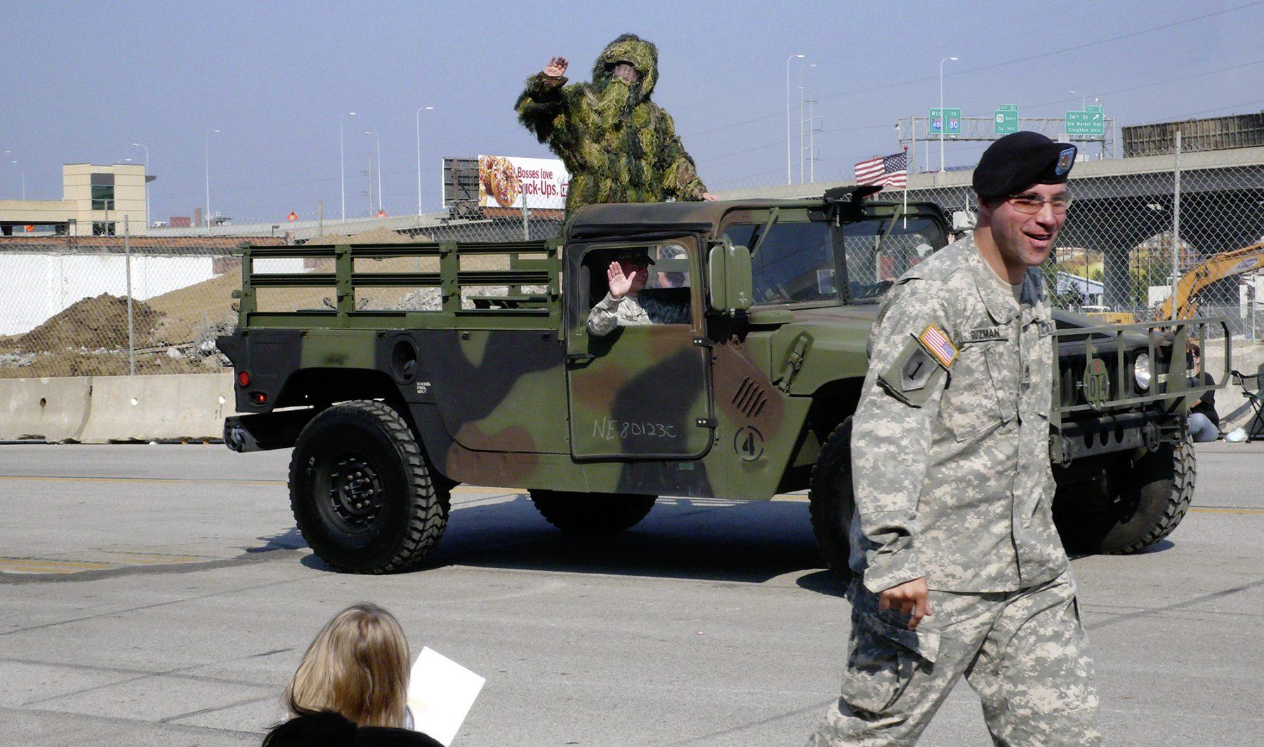 Militärumzug