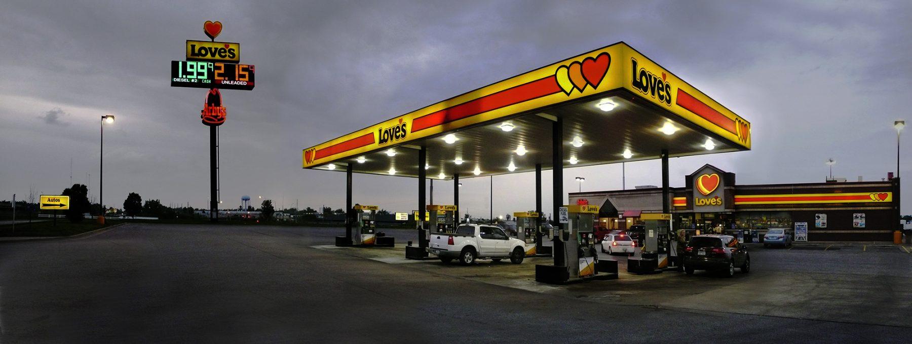 Tankstellehell