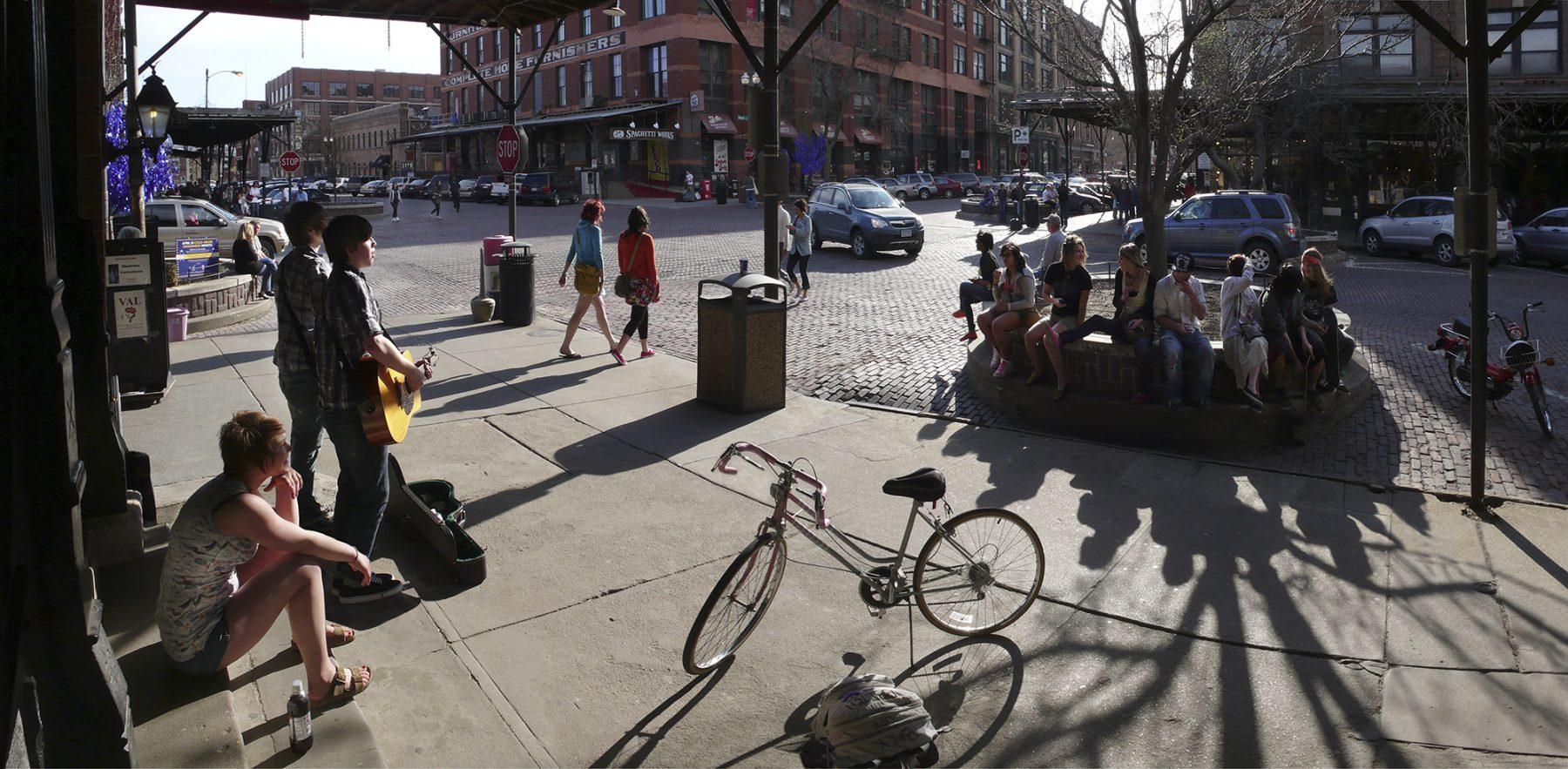Straßenmusik Omaha