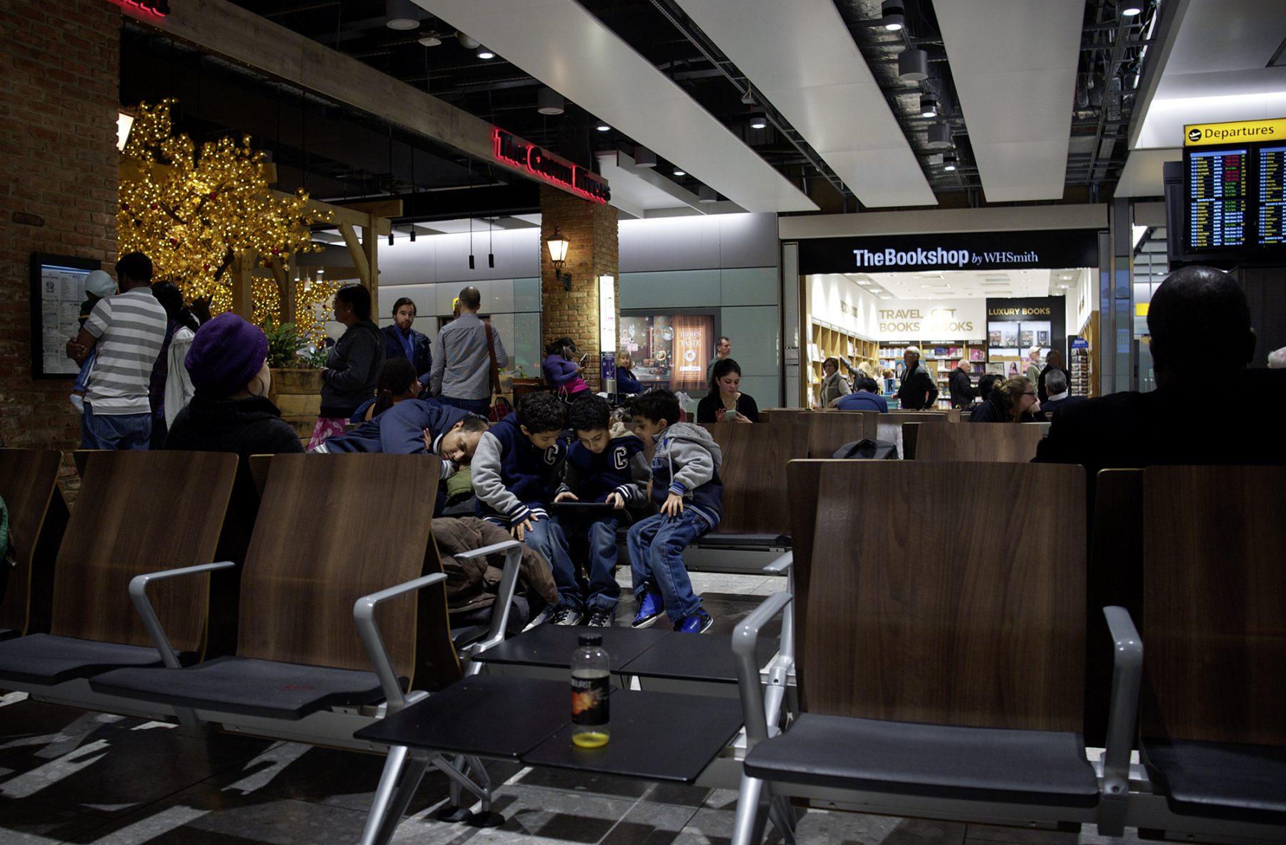 Flughafenkinder USA