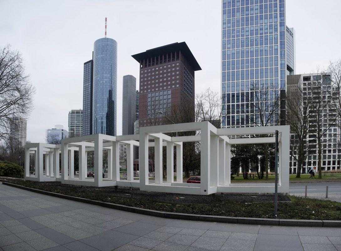 Frankfurt am Main, Hochhäuser, Kunst im öffentlichen Raum