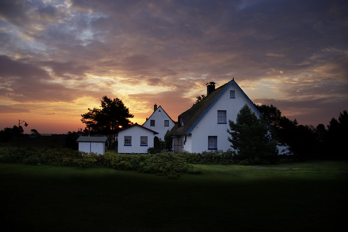 Morgenrot, Insel,Hiddensee