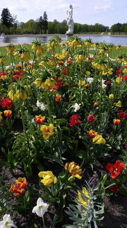 Skulptur Blumen Rheinsberg