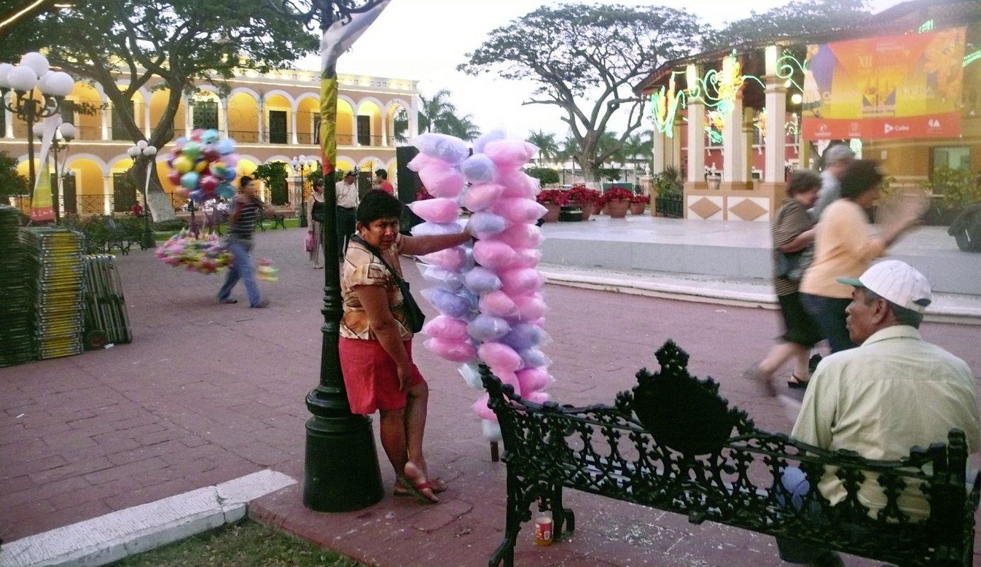 Mexiko, Campeche, Straßenverkauf