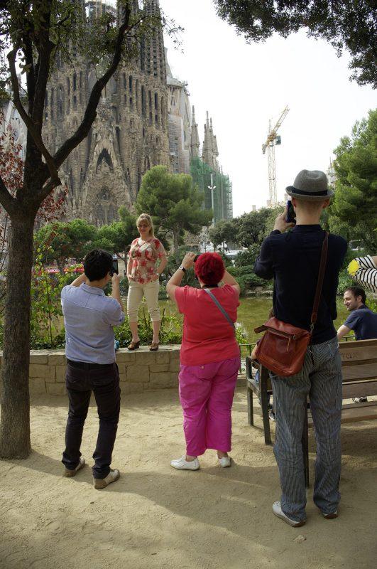 Sagrada Família, fotografieren