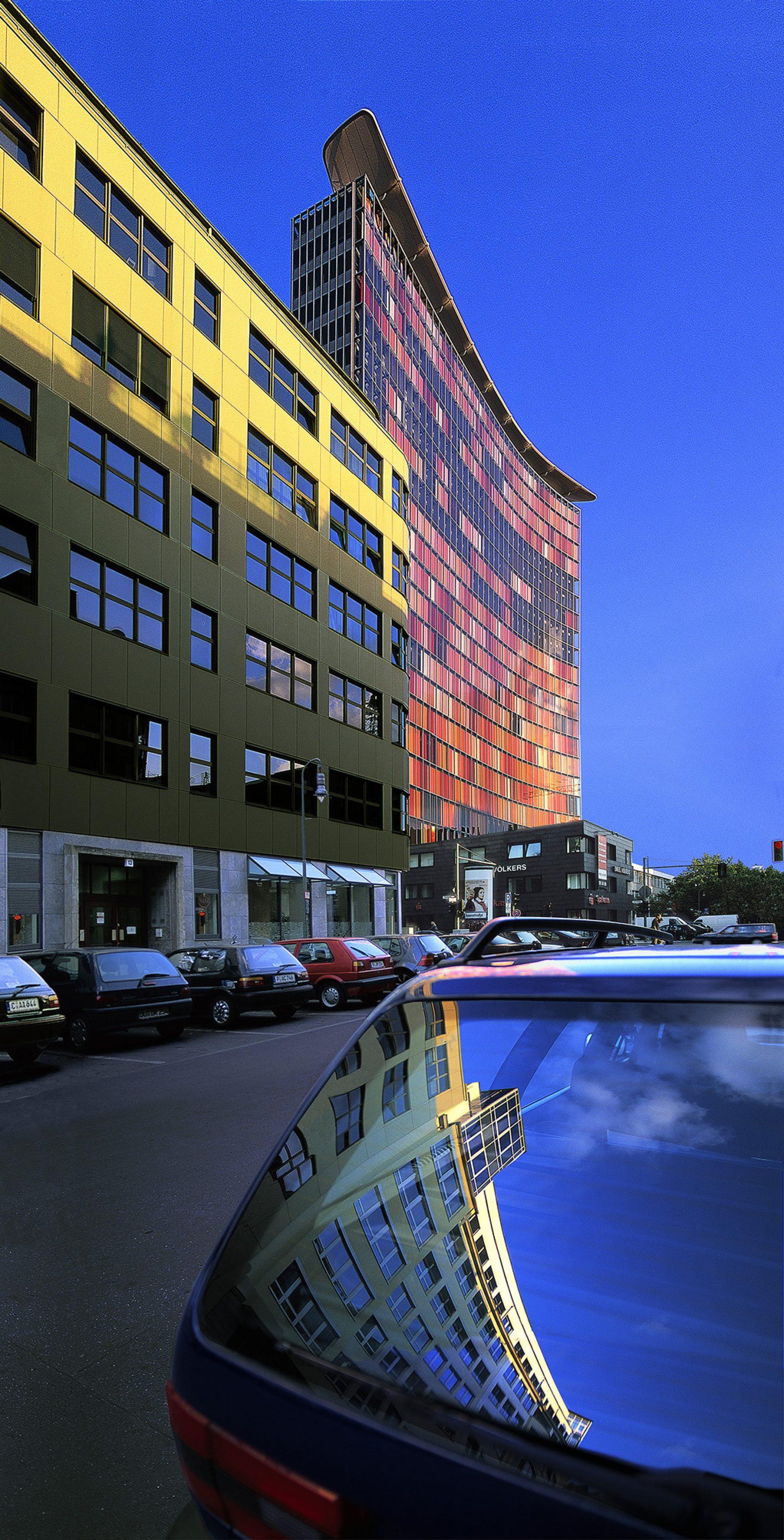 Berlin, GWS Gebäude, Architekten Sauerbruch Hutton