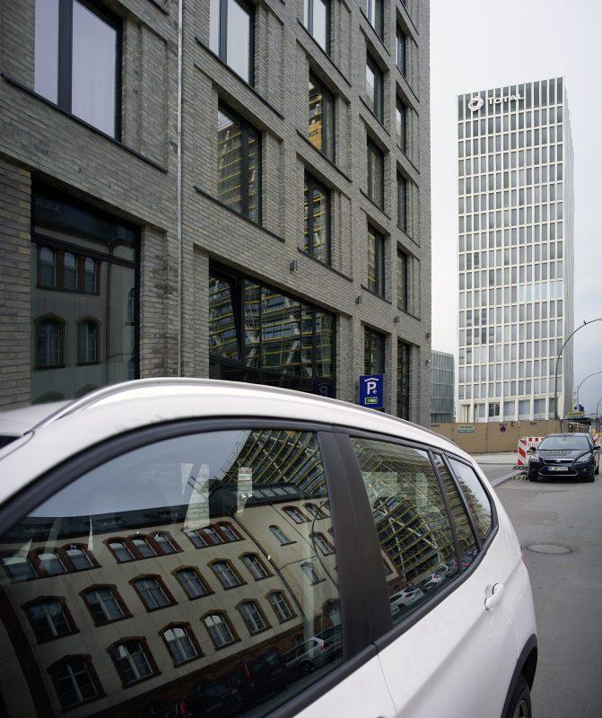 Berlin Mitte, moderne Architektur, Heidestraße