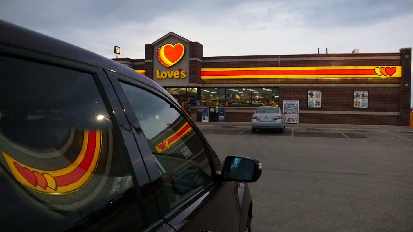 USA, Tankstelle
